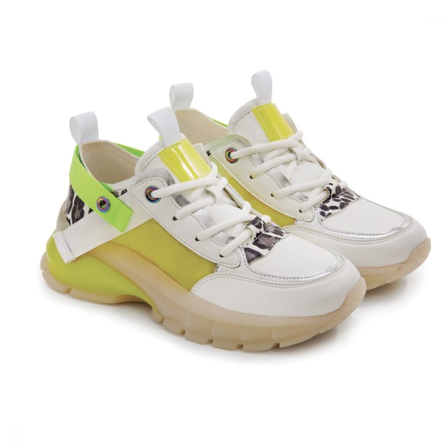 Sneakers animalier Gialle